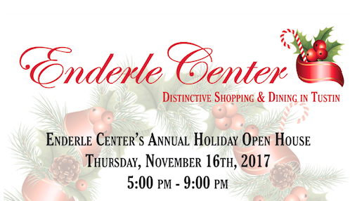 Enderle Center's Annual Holiday Open House