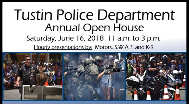Tustin Police Department Open House