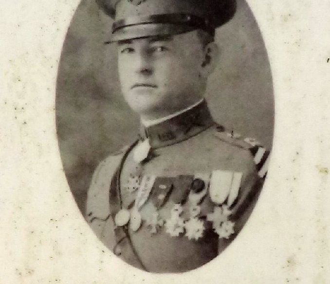 Nelson Miles Holderman is the only of the Tustin soldiers honored with a street name who did not die in the line of duty. Holderman served as a captain in World War I. On October 6, 1918, although wounded, he rushed through enemy machine gun and shell fire and carried two men to safety while fighting in the Argonne Forest of France. He returned home to a hero's welcome and received the Medal of Honor for his bravery.