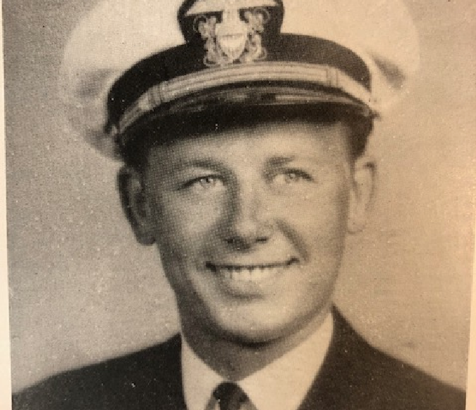 Ralph Peter Plumb was Tustin's first soldier to die in war. His father Hugh was the Orange County Tax Assessor and his mother Frances Adams hailed from one of the city's founding families. Peter, as he was known, was involved in sports, drama and choir at Tustin High. The UC Berkeley graduate joined the Navy in 1939. His ship was attacked by Japanese bombers in the Coral Sea. More than two-thirds of the crew died, including Ensign Plumb.