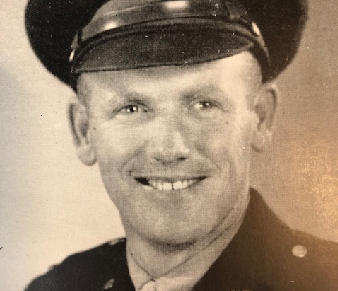 Edward R. Bristow, the oldest of five boys, grew up in Tustin. A standout at Tustin High, Bristow was student body treasurer and a star pitcher for the baseball team. After graduation, he worked as a bookkeeper while attending college. He enlisted in the Army in 1942 and shipped out in 1944 — participating in the D-Day invasion of Normandy, France. Six days into the assault, Second Lt. Bristow was fatally wounded, leaving his wife and two sons. His mother Marie became president of the Gold Star Mothers.